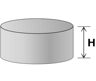 円柱型寸法